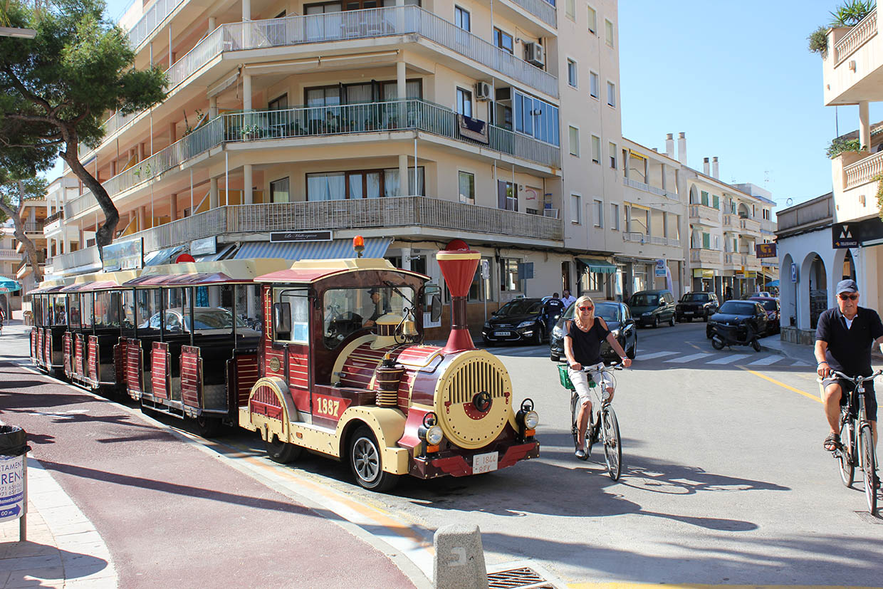 Mini Train Colonia Sant Jordi