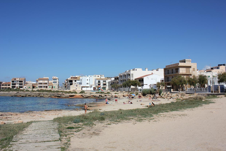 Strand Cala Galiota Colonia Sant Jordi