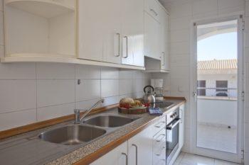 Apartamentos Edificio Puerto Colonia Sant Jordi Mallorca Cocina 3 Dormitorios Vista Mar