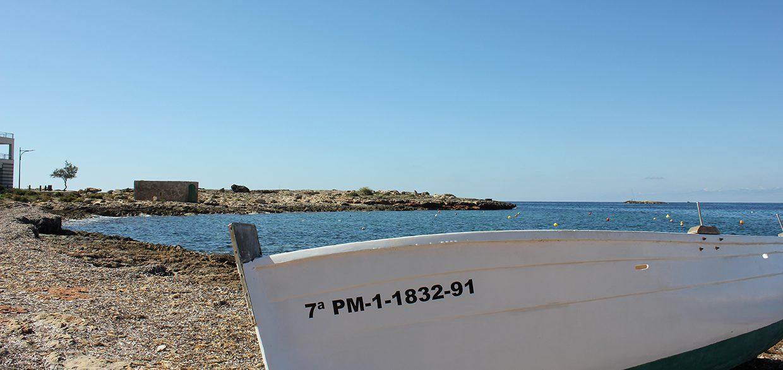 Boat on Cala Galiota