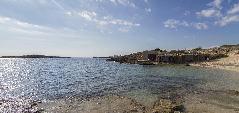 Ca'n Curt beach Colonia sant Jordi