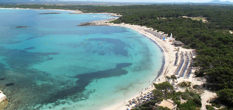 Ets Estanys playa Colonia Sant Jordi