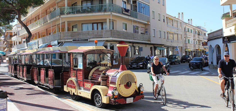 Mini Train Colonia Sant Jordi
