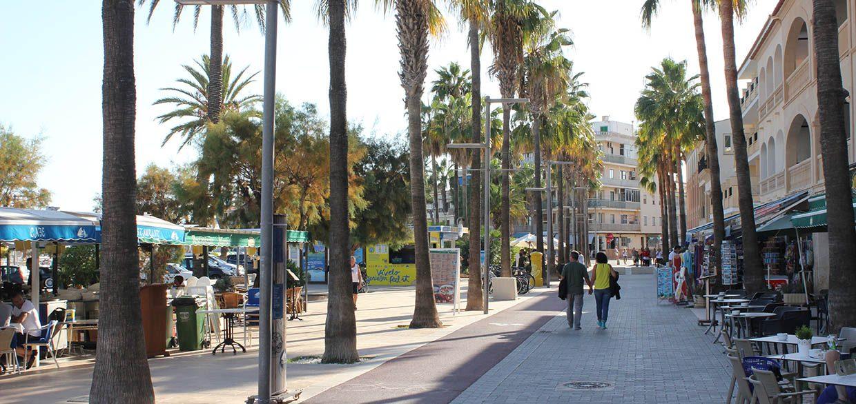 Pedestrian Street Port Colonia Sant Jordi